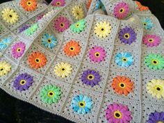 Granny Square Crochet Pattern, Crochet Granny, Crochet Motif, Crochet Hooks, Knit Crochet, Crochet Patterns, Crochet Afghans, Crochet Blankets, Blanket Patterns