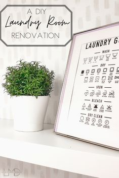A DIY Laundry Room Renovation with a hand painted wallpaper -Leah Maria Designs Hand Painted Wallpaper, Hand Painted Walls, Painting Wallpaper, Woodworking Projects Plans, Diy Woodworking, Laundry Room Inspiration, Interior Design Tips, Dark Bedrooms, Modern Furniture