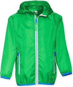 Super  Produkteigenschaften: Mit dieser super leichten Outdoor-Jacke kann der Regen kommen: Bei Sonnenschein lässt sich die bis zu 2000 mm wasserdichte Kapuzen-Jacke einfach zusammenfalten und einpacken. Der Unisex-Regenschutz mit getapten Nähten hat einen Rei&verschluss mit Kinnschutz. Die schicken Kontrastnähte machen die Regenbekleidung zum coolen Lieblingsteil. Praktisches Design: Der in die Seitentasche faltbare Regenumhang eignet sich wunderbar zum Mitnehmen. In den zwei… Kids Rain Jackets, Play Shoes, Shirt Bluse, Baby Boy Shoes, Nike Jacket, Hooded Jacket, Windbreaker, Raincoat, Shirts