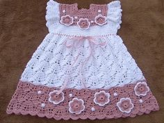 Karoshia Knitting : New 2012 Crochet Baby Girl Clothes Models Fashion models with examples ...