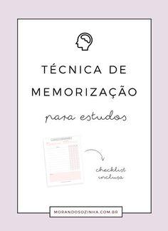 Você vive lutando para se lembrar de tudo que aprendeu durante os estudos? Essa técnica de memorização vai te ajudar (e mudar sua vida).