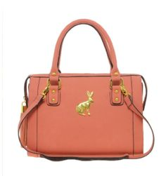 Love the bunny and the colour!
