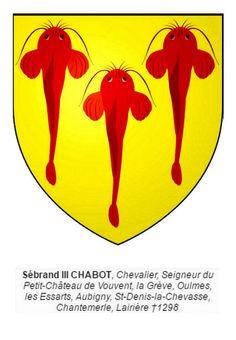 Chabot;seigneur d'Aubigny Oulms et autres lieux