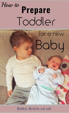 Tips on how to prepare toddler for a new baby sibling - a psychologist's perspective. baby-brain.co.uk