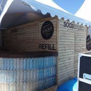 #sodastream #cannes2013 #greensodabar