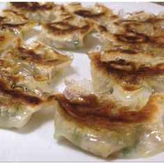 Tenpei gyoza, the most crispy gyoza  in Japan.