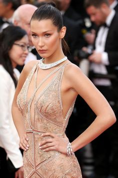 A FEW weeks ago most people not intimately acquainted with the fashion world knew Bella Hadid as Gigi's little sister, if they knew her at all, but Cannes has changed all that. Leading the pages of some of the world's biggest celebrity websites this morning, it's clear that Bella's coming of age happened this week on the French Riviera – and the brunette beauty is taking it all in her stride.