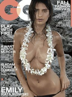 Emily Ratajkoski is firmly cementing her status as a sex symbol with yet another revealing photo released from her steamy GQ shoot #dailymail #gq