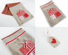 Easy to make and perfect for children and adults alike, these sacks make the ideal alternative to traditional wrapping.