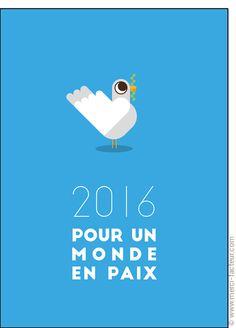 Carte Colombe pour un monde en paix pour envoyer par La Poste, sur Merci-Facteur !