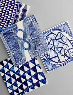 Fliesenlack und Fliesenfarben diy blau farben lack