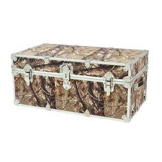 New Rhino Storage Trunk Footlocker32x18x14 For Camp, College U0026 Dorm. USA  Made #Rhino