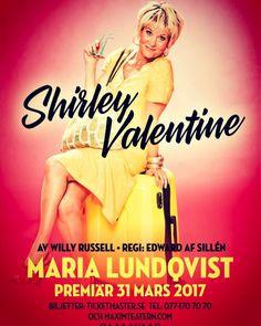 Minst En Gång i Veckan: SHIRLEY VALENTINE, Genrep, Maxim, föreställning nr...
