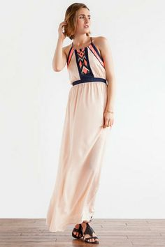 Scottsdale Printed Maxi Dress