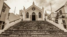 """Praying for St. Peter"" - St. George's, Bermuda - Photo by MSorianoAIA"