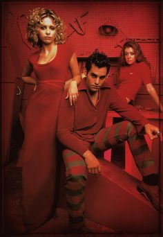 Buffy,Xander & Willow - buffy-the-vampire-slayer Photo