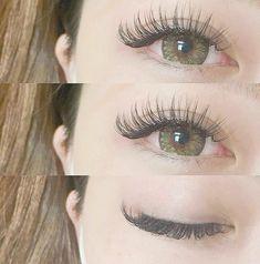 how-to-apply-eye-lash-extensions - More Beautiful Me 1 Longer Eyelashes, Long Lashes, False Lashes, Eyelashes Grow, Permanent Eyelashes, Mink Eyelashes, Best Lash Extensions, Eyelash Extensions Styles, Individual Eyelash Extensions