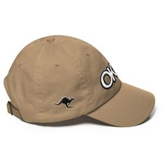 Embroided Okka Kangaroo Cap by Okkaland – Buy Australian Caps Online.  Top of the range Dads Cap.  Comes in a wide range of colors.   True blue Aussie this one!