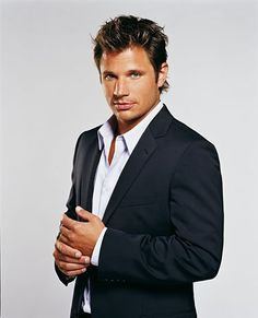 Nick Lachey... can't wait to see how beautiful his babies with Vanessa will be... Jessica let a good thing go.