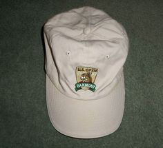 Men's Khaki & Green US OPEN 2007 OAKMONT Embroidered Golf Hat, Adjustable…