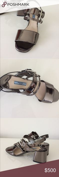 Gorgeous PRADA heels SZ 37 NWT 100% Authentic Prada Shoes