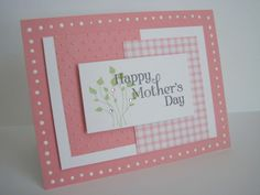 Simple Mother's day card.