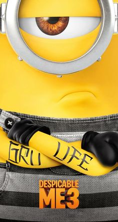 Despicable Me 3, iPhone wallpaper HD, 4K