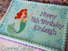 little mermaid cakes | Little Mermaid and Friends - by Corrie @ CakesDecor.com - cake ...