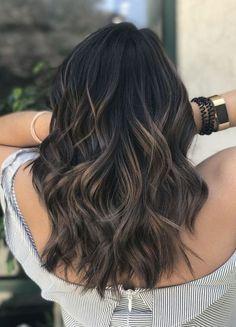 Pretty Style Ideas for Long Length Hair #longnails