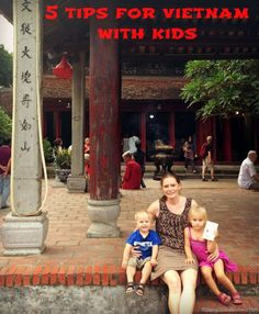 Vietnam is the perfect destination to start adventurous travel with your kids!  Our top tips for getting around Ho Chi Minh City and Hanoi with young kids | BabyGlobetrotters.Net