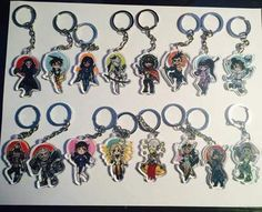 Overwatch Fan art Acrylic Keychains- Choose your character