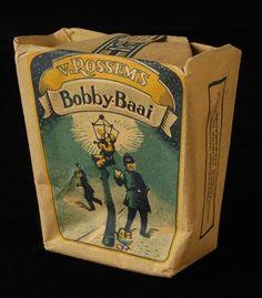 pakje tabak van Van Rossem, productnaam Bobby-Baai