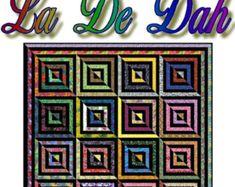 LA De DAH - Quilt-Addicts Patchwork Quilt Pattern