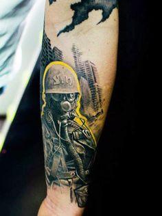 Tattoo Artist - Klaim Street Tattoo - war tattoo