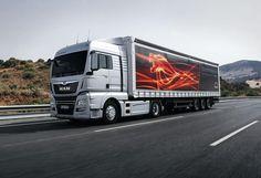 Новейший магистральный тягач MAN презентуют в Украине