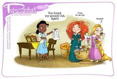 Pocket Princesses 217: Shopping Day by Amy Mebberson