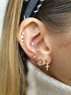 Create your own style Diamond Earrings, Stud Earrings, Marmaris, Beauty Make Up, Tatoos, Tatting, Piercings, Gold, Jewellery