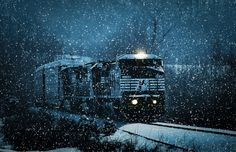 Another Train for the Holidays by Greg Booher on 500px.com