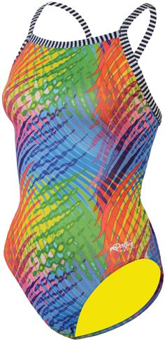 989110059d Dolfin Uglies V-2 back Vivi Female Swimsuit one piece available at  SwimmersChoice.com