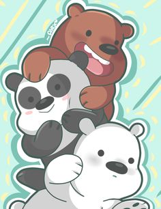 felt like drawing bears ʕ •ᴥ•ʔ loving season 2 so far ♥ twitter.com/chibiirose/status/… chibiirose.tumblr.com/post/142…