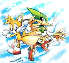 Tails and Speedy!
