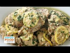 Chicken Thighs Braised in White Wine - Everyday Food with Sarah Carey