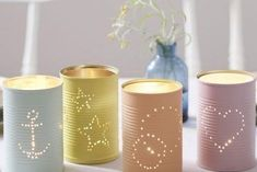 50 Jaw-Dropping Ideas for Upcycling Tin Cans Into Beautiful Household Items! Diy Upcycling, Image Notes, Kinds Of Salad, Potpourri, Pin Collection, Decoration, Pillar Candles, Pure Products, Pretty