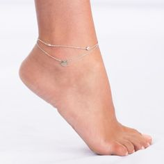 Silver Bird Anklet! Retails for $88 Enjoy Free Shipping & Returns on orders over $50!
