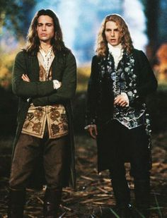 Tom Cruise & Brad Pitt in Interview With A Vampire