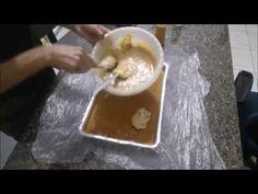 Bolo frozen parte 1 montagem e recheio