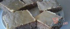 Recept Ořechové řezy se žloutkovou polevou Nutella, Cheesecake, Candy, Chocolate, Food, Cheesecakes, Essen, Chocolates, Meals