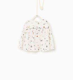 Little house blouse-SHIRTS-Baby girl-Baby | 3 months - 3 years-KIDS | ZARA United States