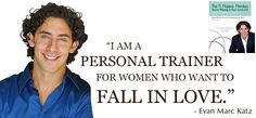 Evan Marc Katz A Woman's Personal Trainer For Love