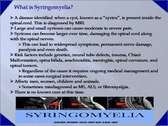 Established on September 23, 2014, the Worldwide Syringomyelia & Chiari Task Force Inc. is a non-profit 501c3 organization.  Our mission is to educate the world about Syringomyelia.  Our purpose is...